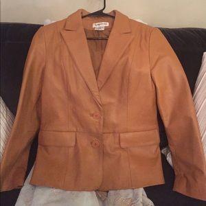 💯 Leather Jacket